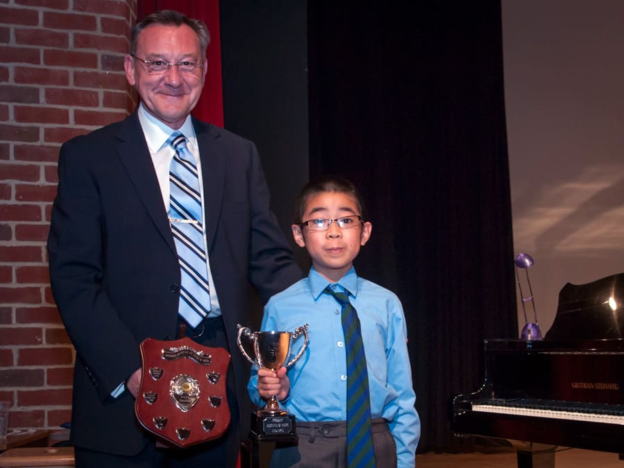 Harvey Lin Age 9 Chopin Open Class Winner
