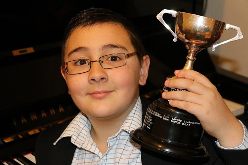 Marco Bulat Winner Of Basingstoke Music Festival
