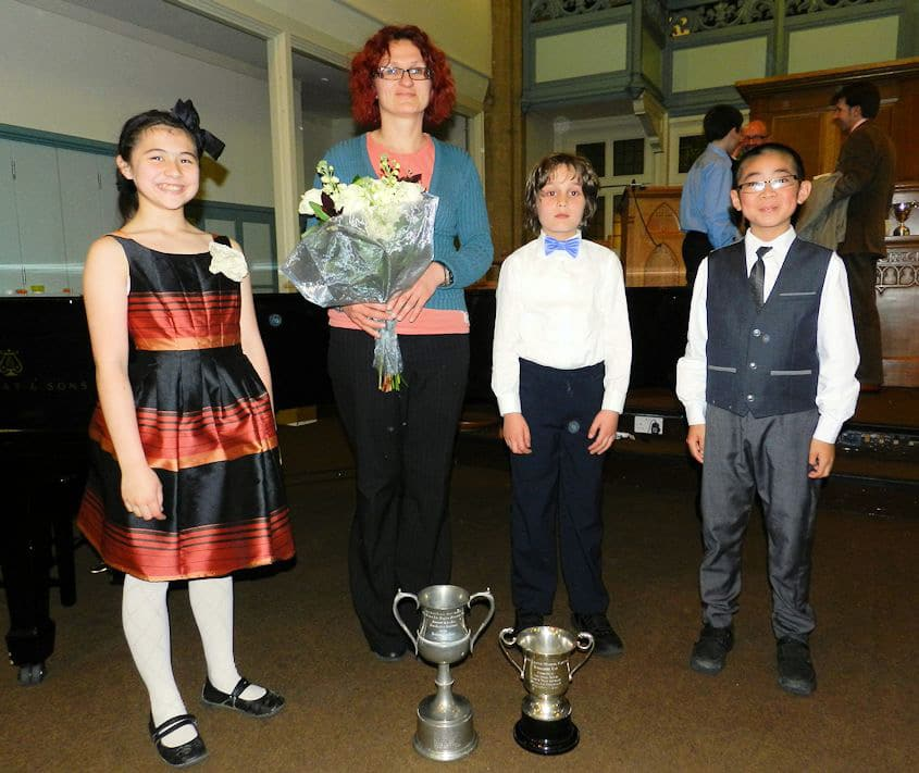 North London Music Festival 2012 Winners With Edita – Principal