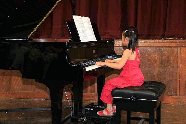 Sienna Fong Playing Piano
