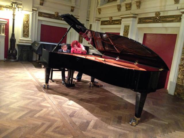 Vienna Rehearsal