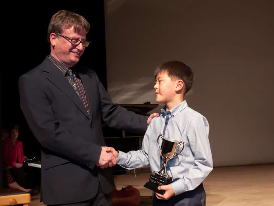 William Chen Age 9 Sonatina Class Winner