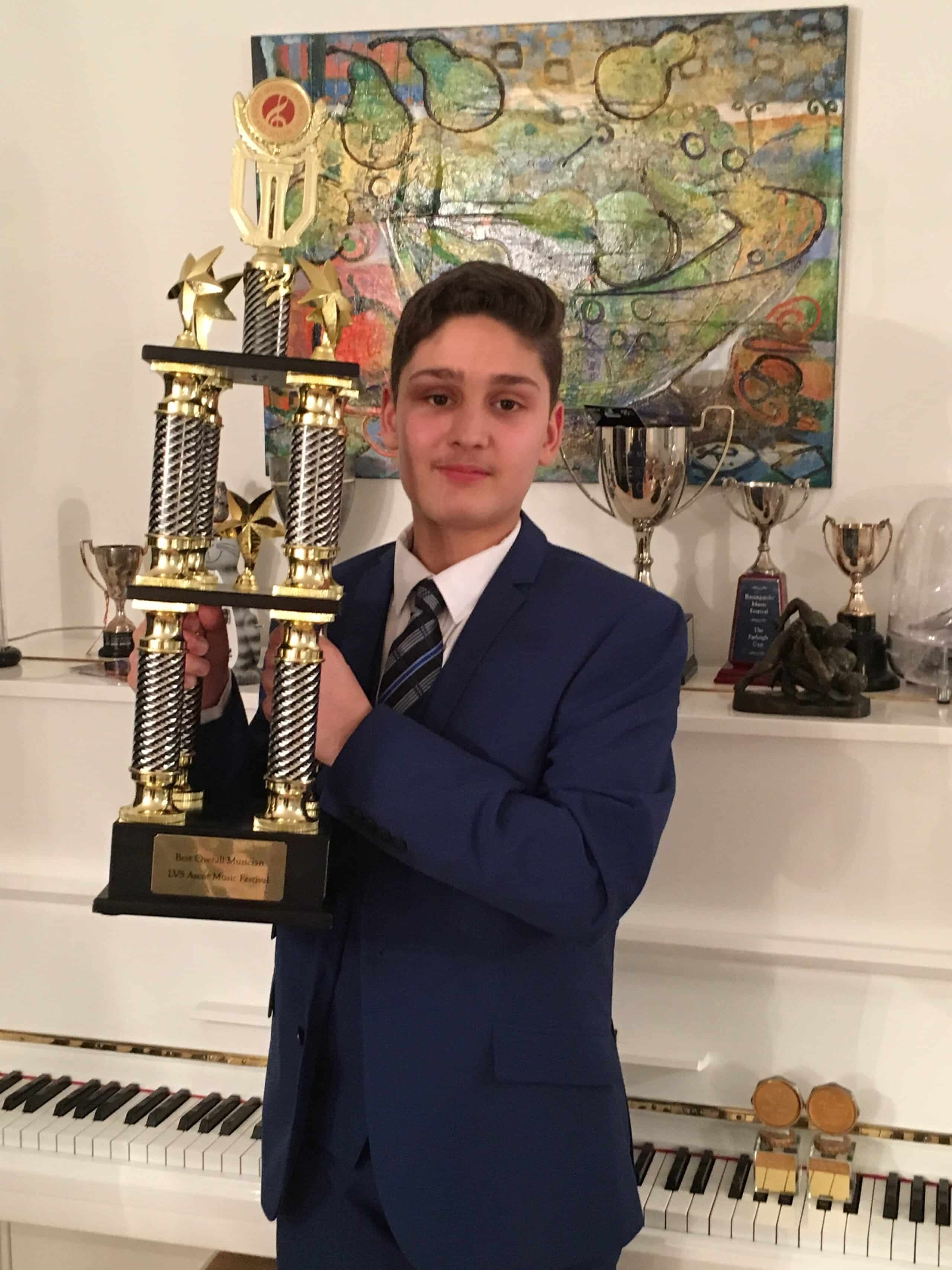 "WPS Student Wins ""Overal Best Musician"" Title…"