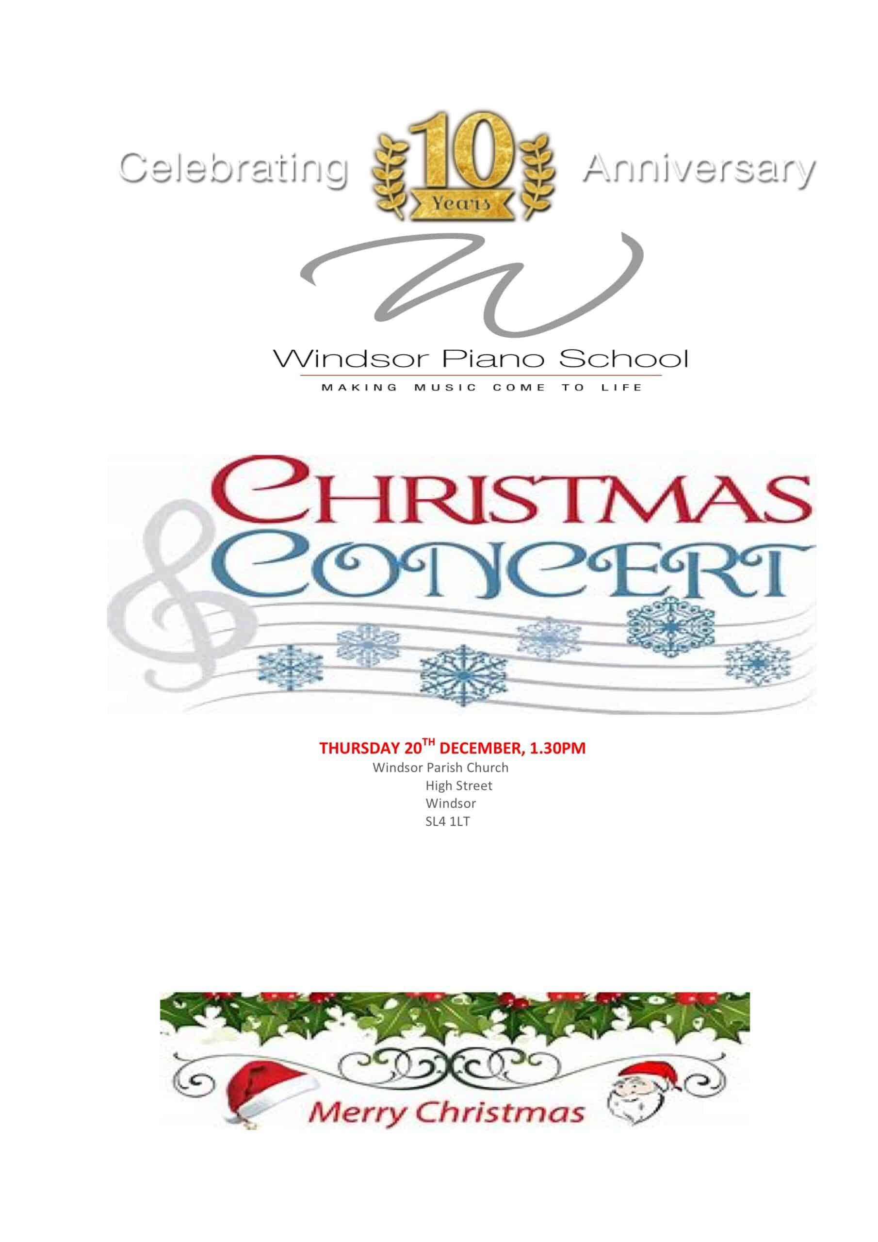 Christmas Concert 2018 WPS